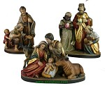 Rudi Kostner nativity set 3 pieces